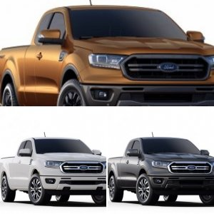 Ford Ranger Colors